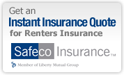 Instant Quote for Renters Insurance from Safeco Insurance